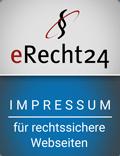 erecht24-Siegel - Impressum