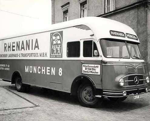 Rhenania die Firmengeschichte