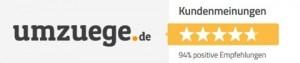 Unsere Umzugs-Bewertungen der Umzüge von Kunden auf Umzuege.de