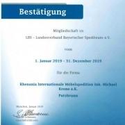 Mitglied im Landesverband Bayerischer Spediteure e.V.